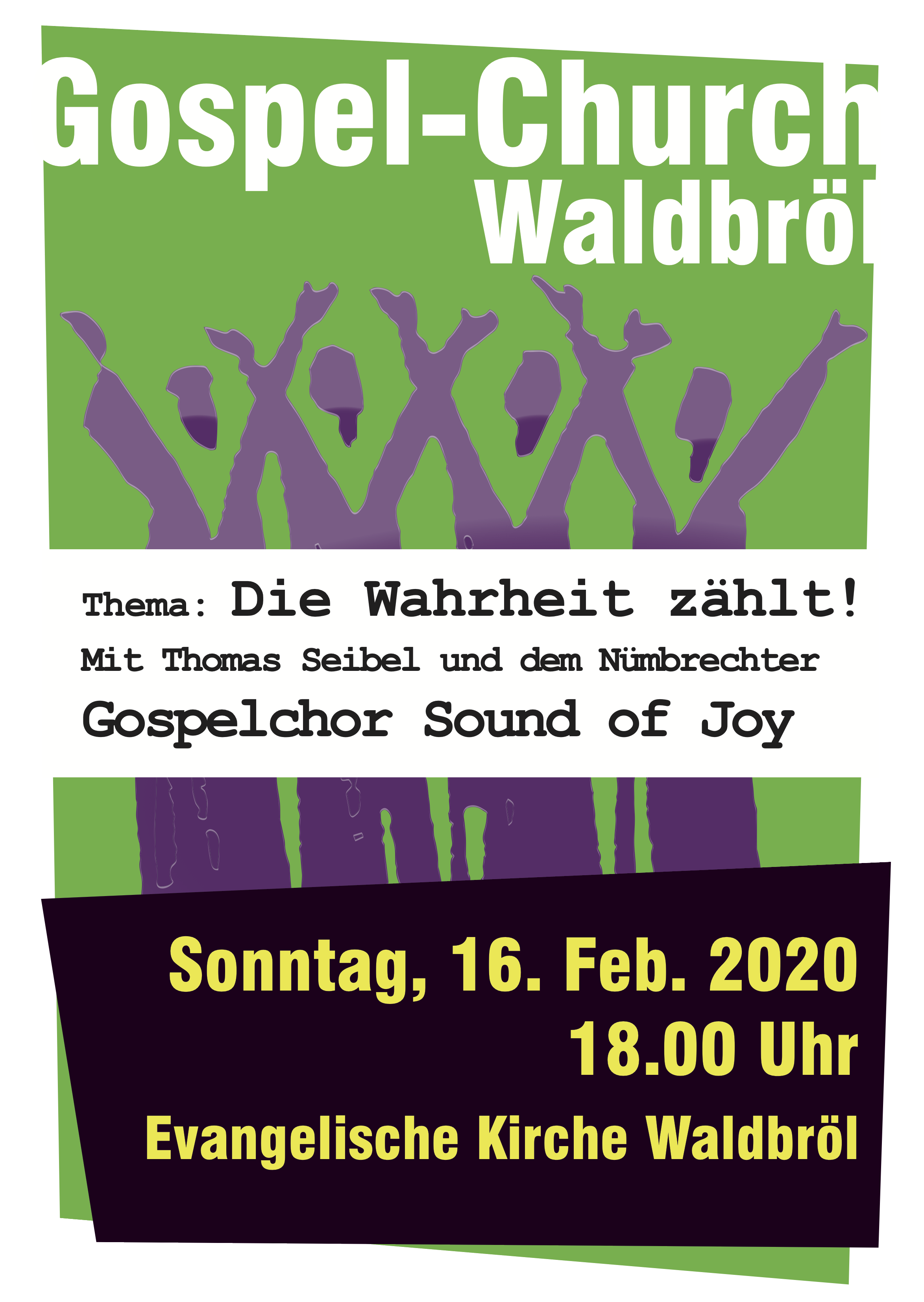 Gospel-Church im Februar