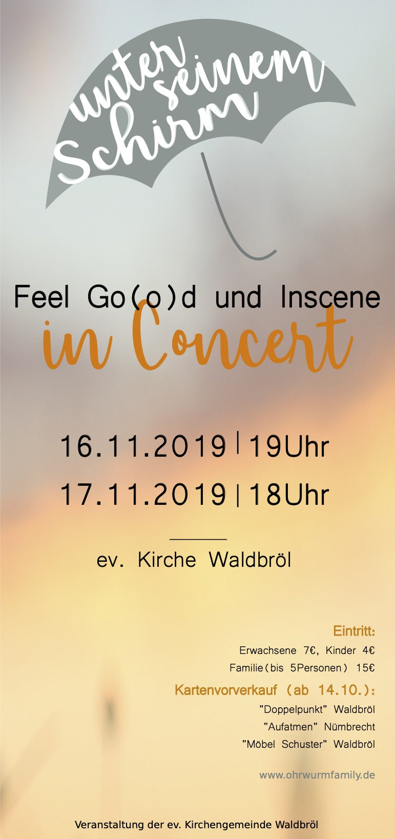 Feel Go(o)d und Inscene in Concert